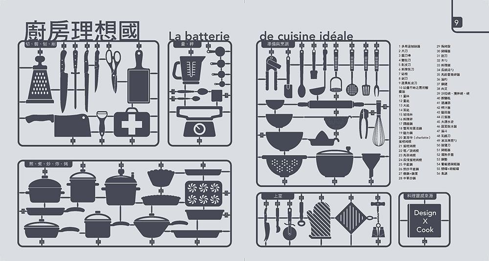 ◤博客來BOOKS◢ 暢銷書榜《推薦》設計師玩食譜:DESIGN×COOK