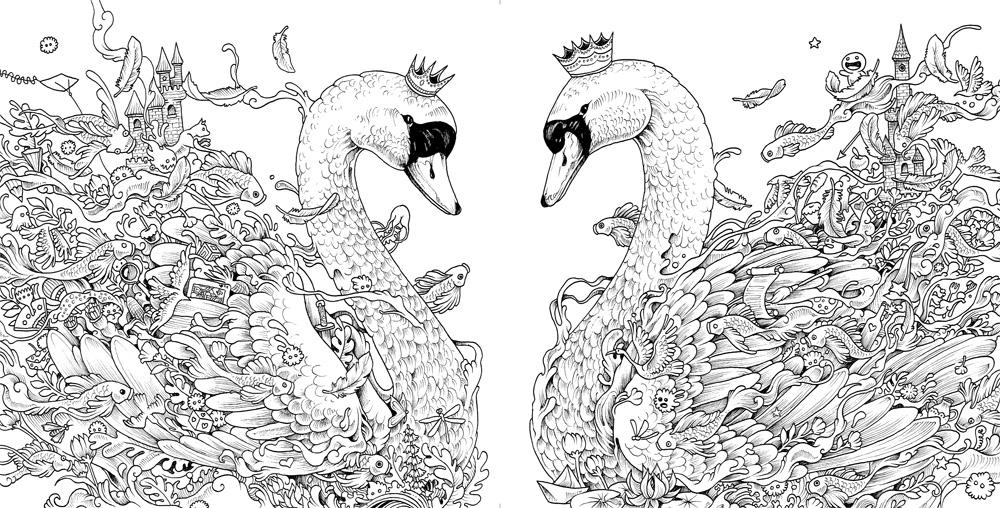 ◤博客來BOOKS◢ 暢銷書榜《推薦》幻獸國度2:被小怪獸淹沒的古城(附贈42x60cm大型眾樂樂著色海報)