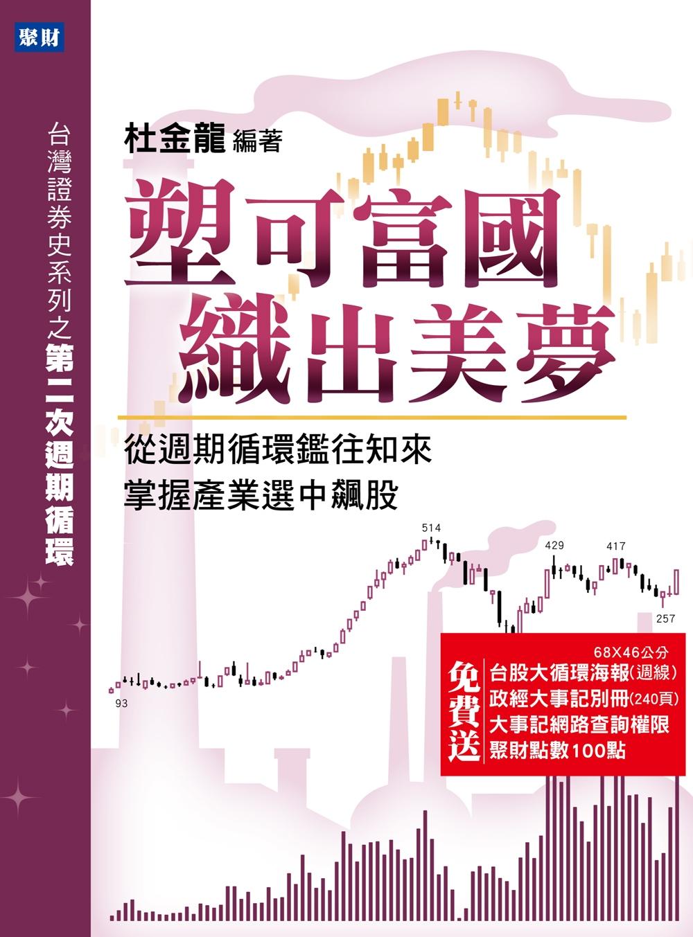塑可富國,織出美夢:從週期循環鑑往知來,掌握產業選中飆股(送股市大循環海報)