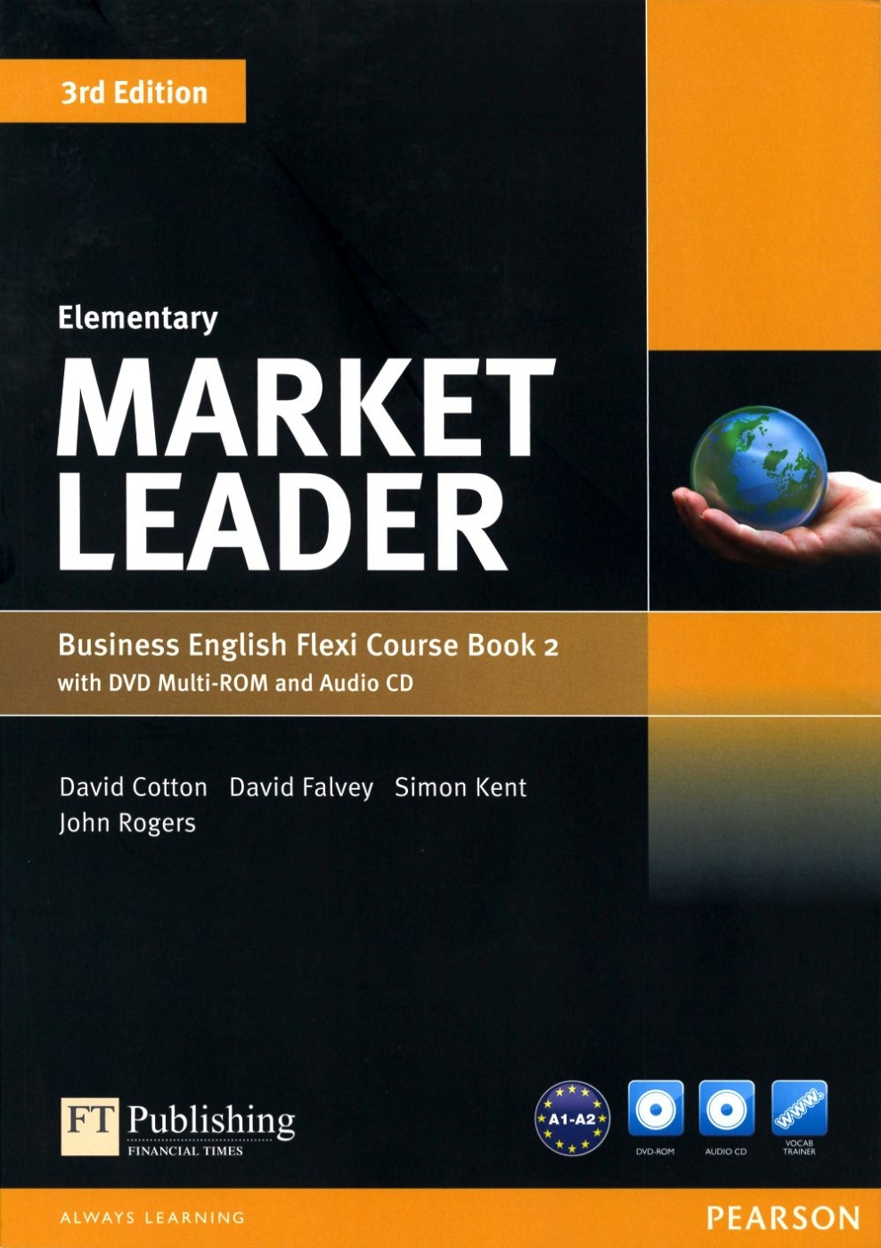 Market Leader 3/e (Elementary) Flexi Course Book 2 with DVD-ROM/1片 and Audio CD/1片
