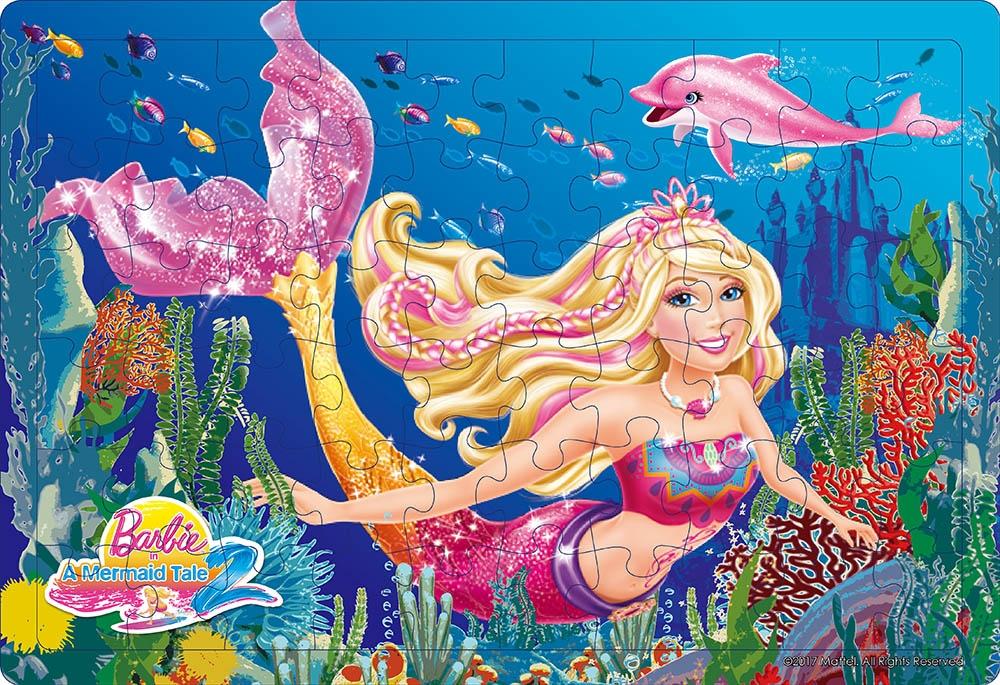 夢幻芭比拼圖:人魚公主