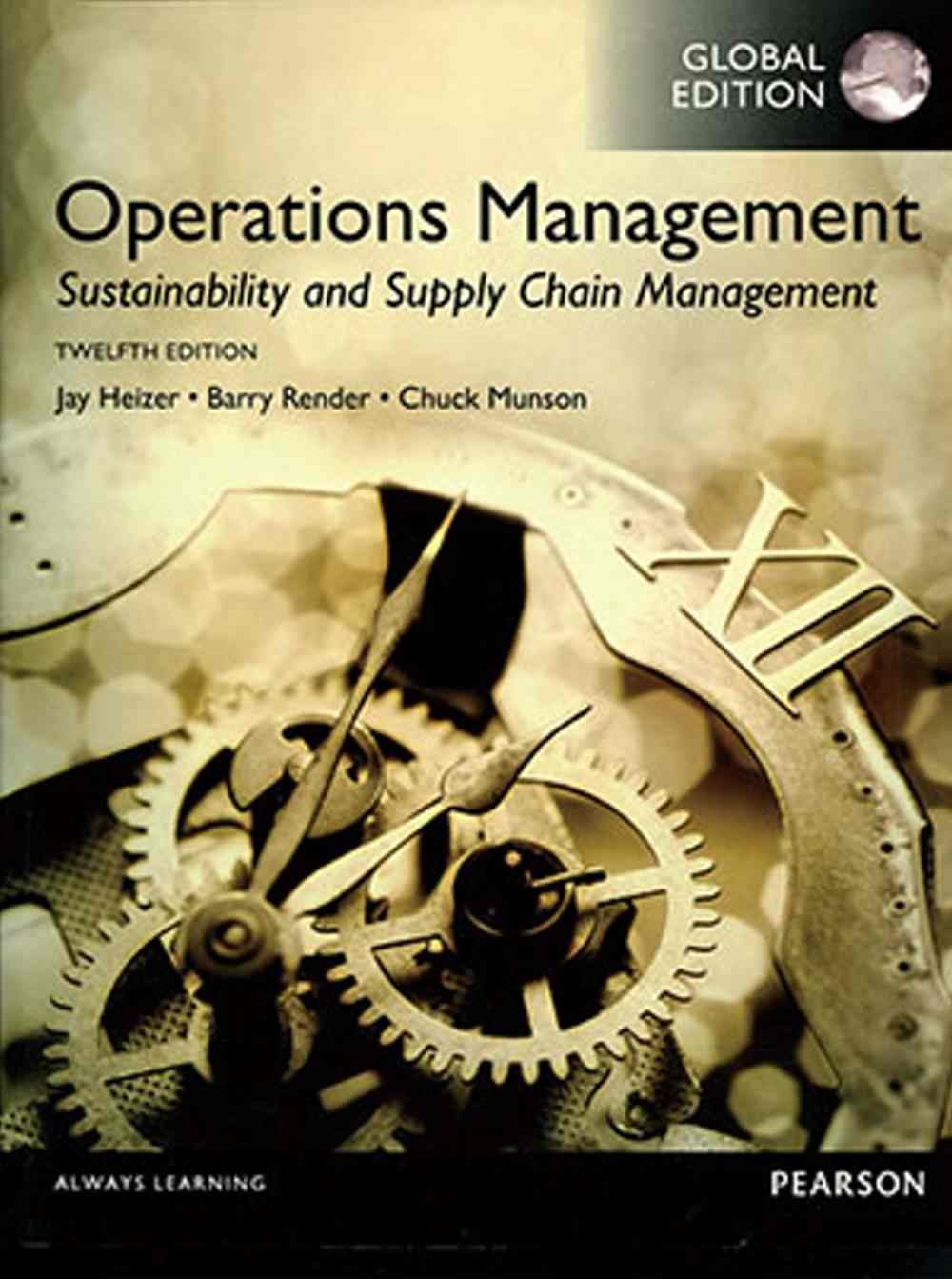 Operations Management: Sustainability and Sup