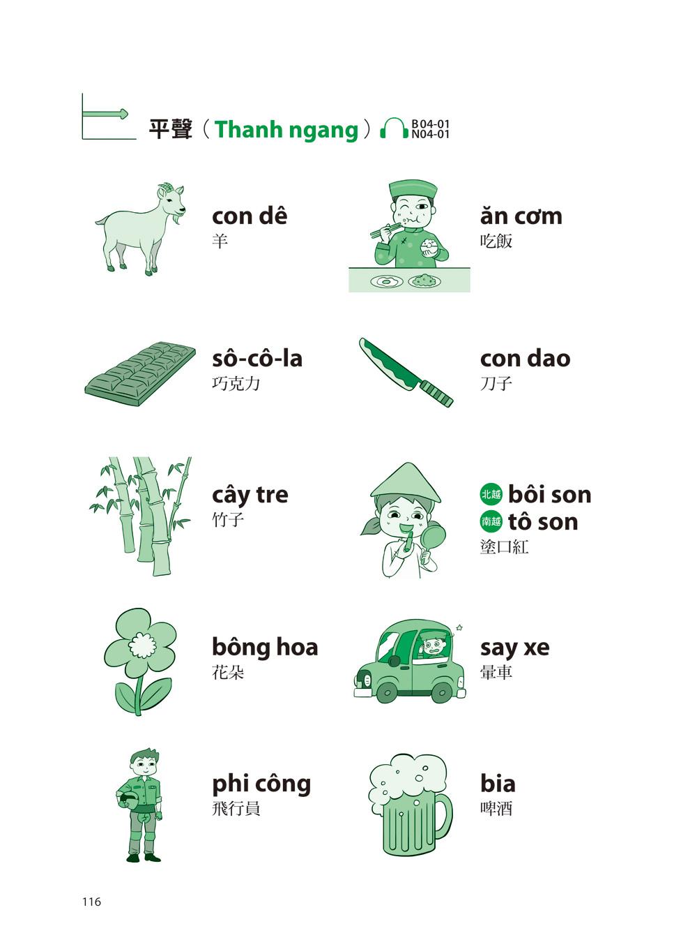 ◤博客來BOOKS◢ 暢銷書榜《推薦》我的第一本越南語發音:一次弄懂越南語複雜的母音、子音、尾音、聲調無負擔(附1 MP3)