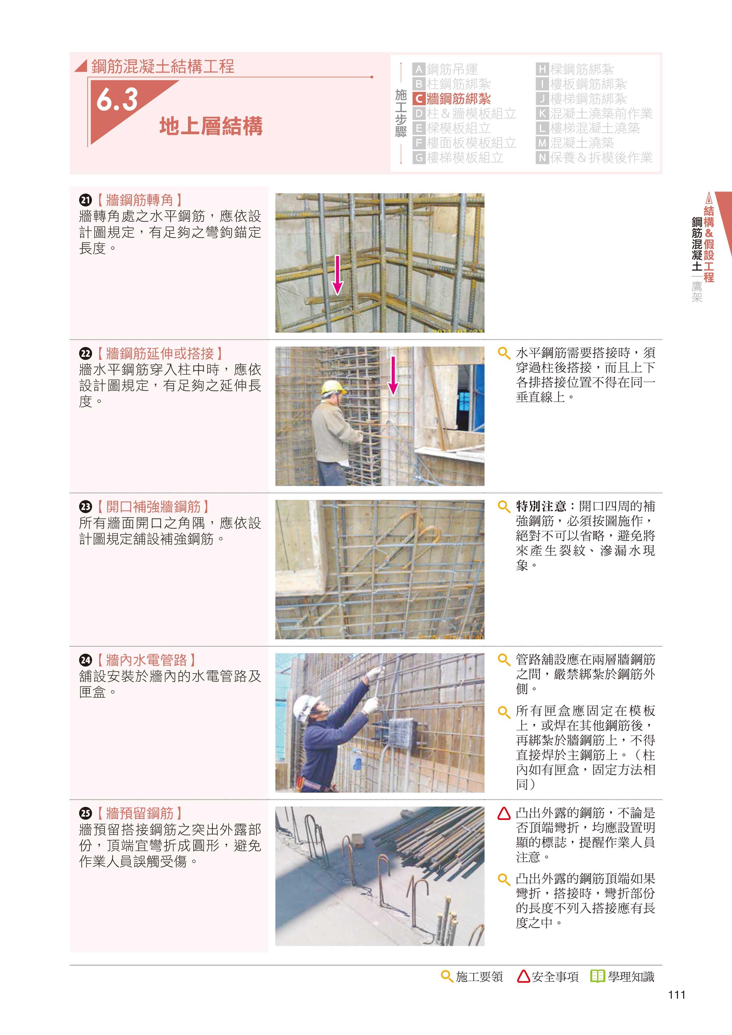◤博客來BOOKS◢ 暢銷書榜《推薦》CSI見築現場第二冊:營建工程施工「營造與施工流程、分項工程施工要領、施工規範於施工現場之實務運用」