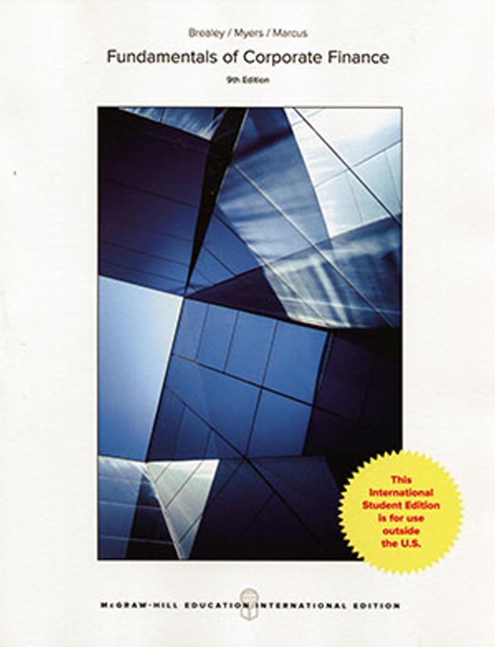 Fundamentals of Corporate Finance(9版)