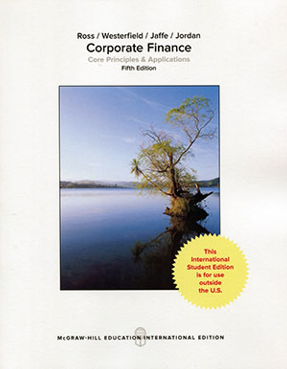 Corporate Finance: Core Principles and Applications(5版)