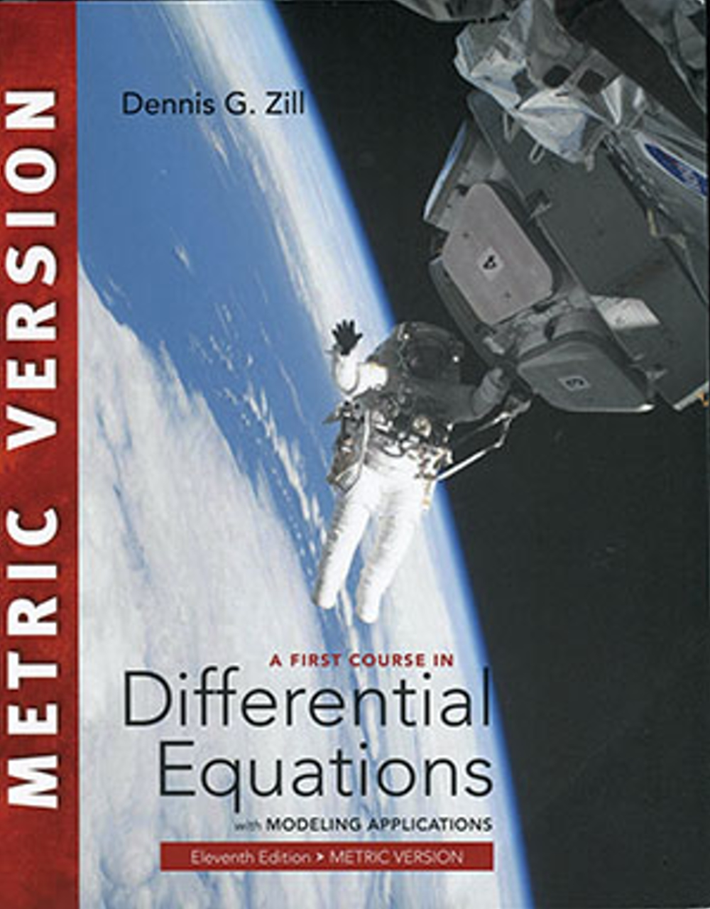A First Course in Differential Equations with Modeling Applications (Metric Version)11版