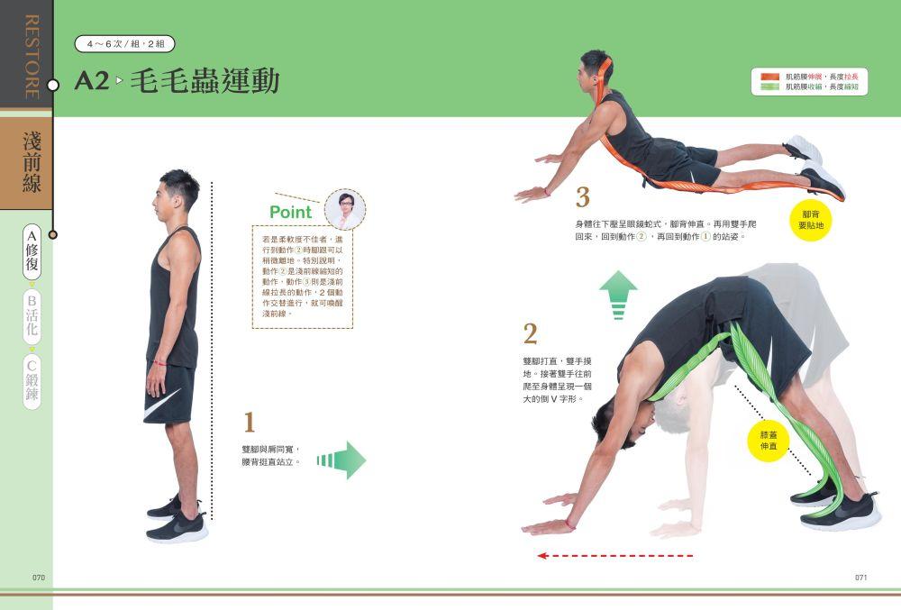 ◤博客來BOOKS◢ 暢銷書榜《推薦》筋膜線身體地圖:修復‧活化‧鍛鍊,3階段提升主宰人體關鍵動作的8條筋膜線,釋放全身疼痛,提升運動表現