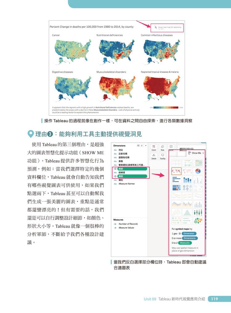 ◤博客來BOOKS◢ 暢銷書榜《推薦》大數據時代必學的超吸睛視覺化工具與技術:Excel+Tableau成功晉升資料分析師