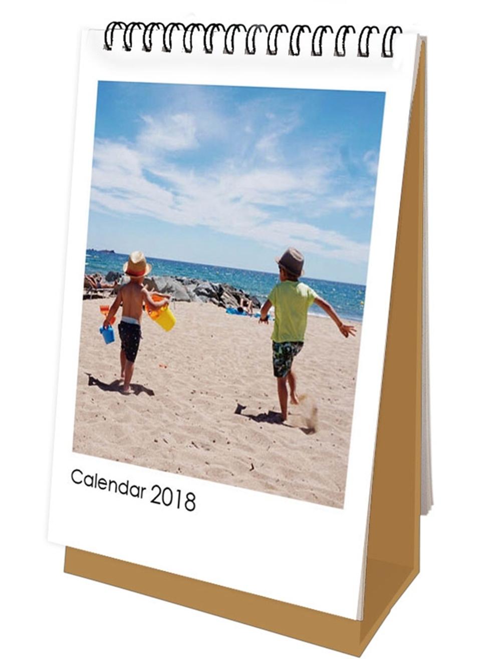 亞歷&阿弟 童真遊趣2018年桌曆(博客來獨家販售)