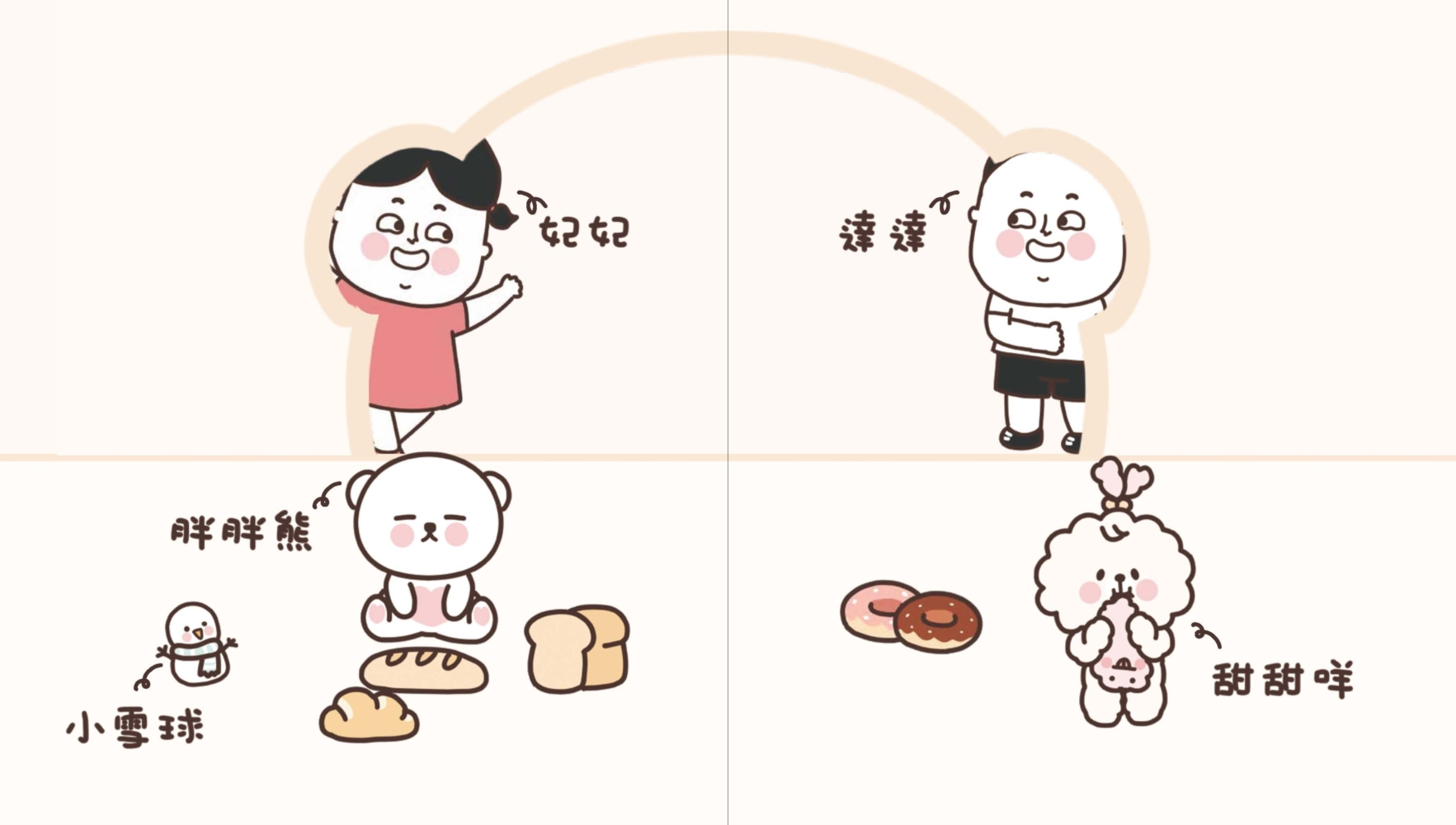 ◤博客來BOOKS◢ 暢銷書榜《推薦》呆萌大進擊:胖胖熊生活日記
