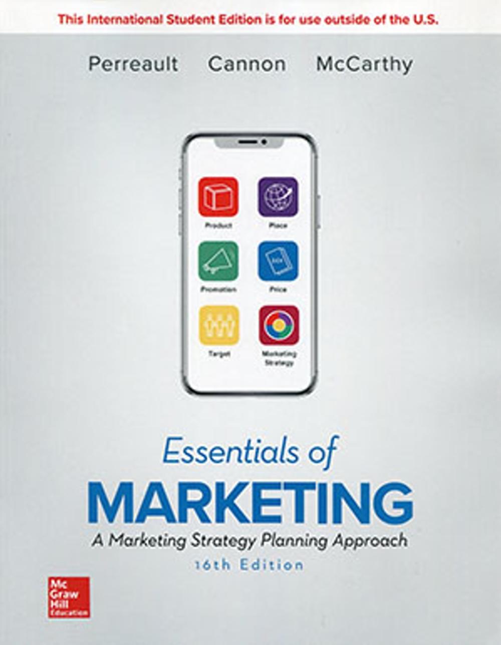 Essentials of Marketing:A Marketing Strategy Planning Approach(16版)