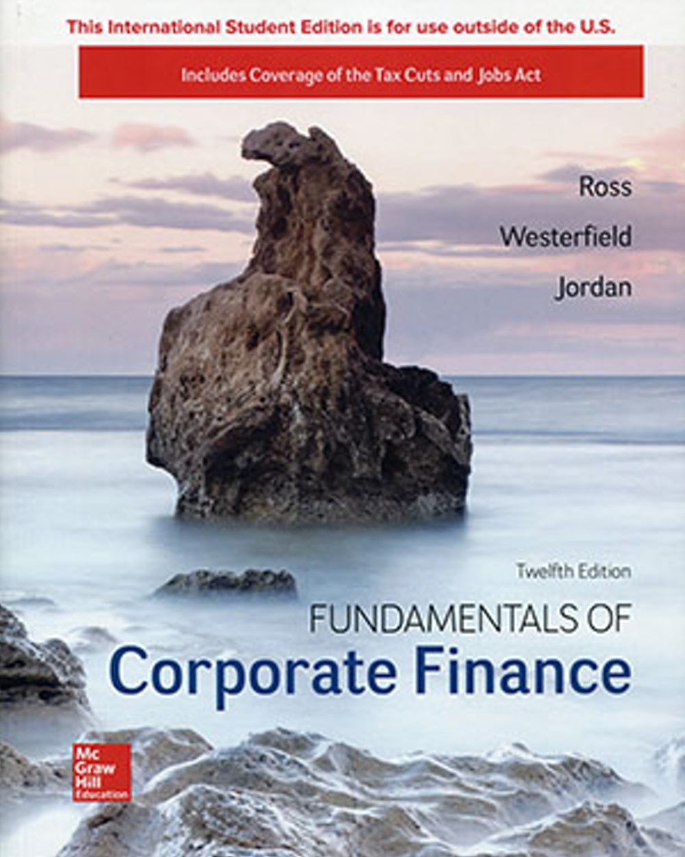 Fundamentals of Corporate Finance (ISE)(12版)