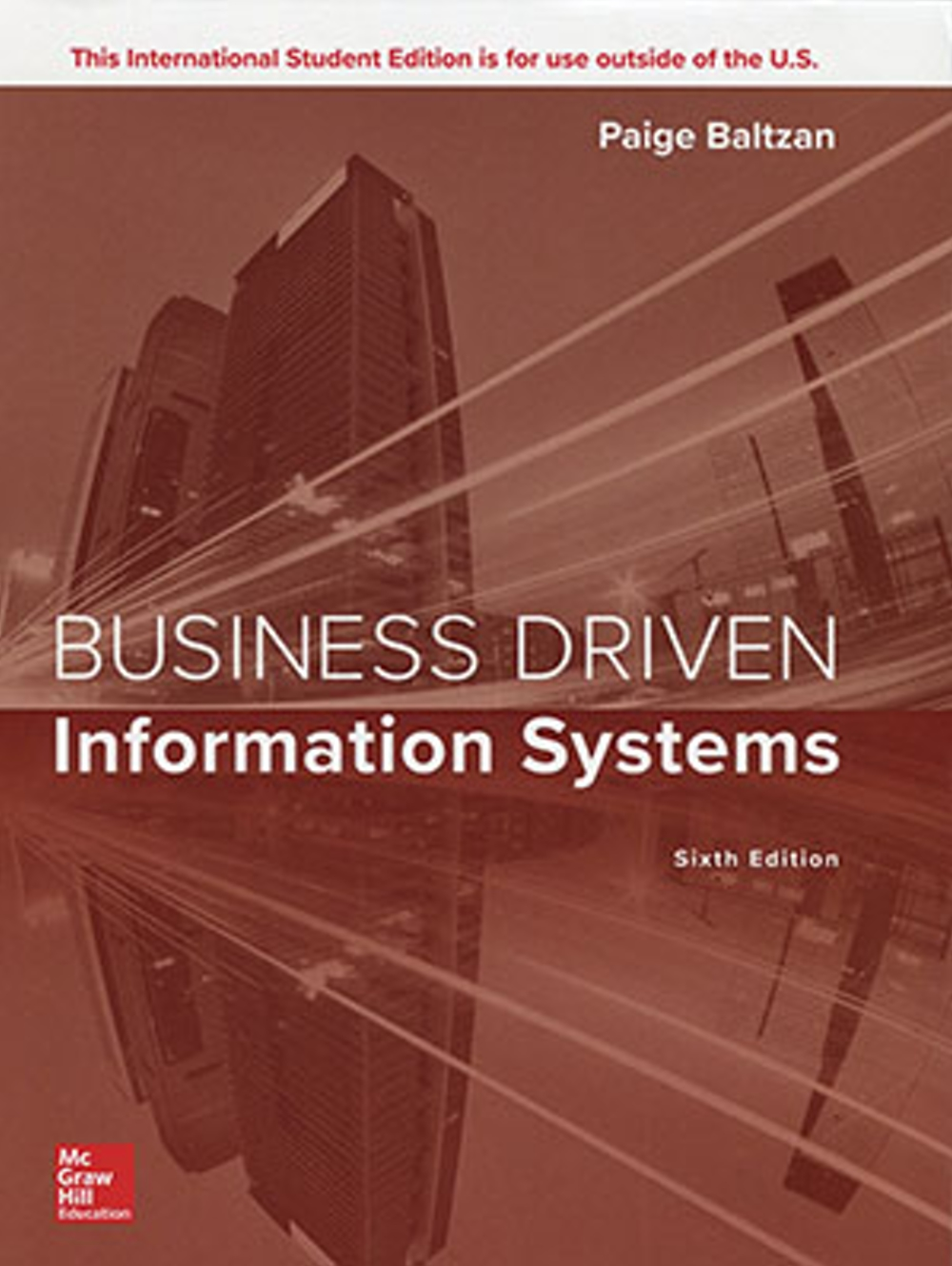 Business Driven Information Systems(6版)