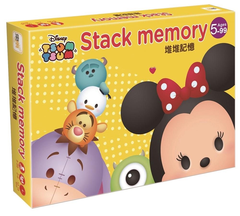 迪士尼DISNEY 益智卡牌:堆堆記憶(Tsum Tsum系列)