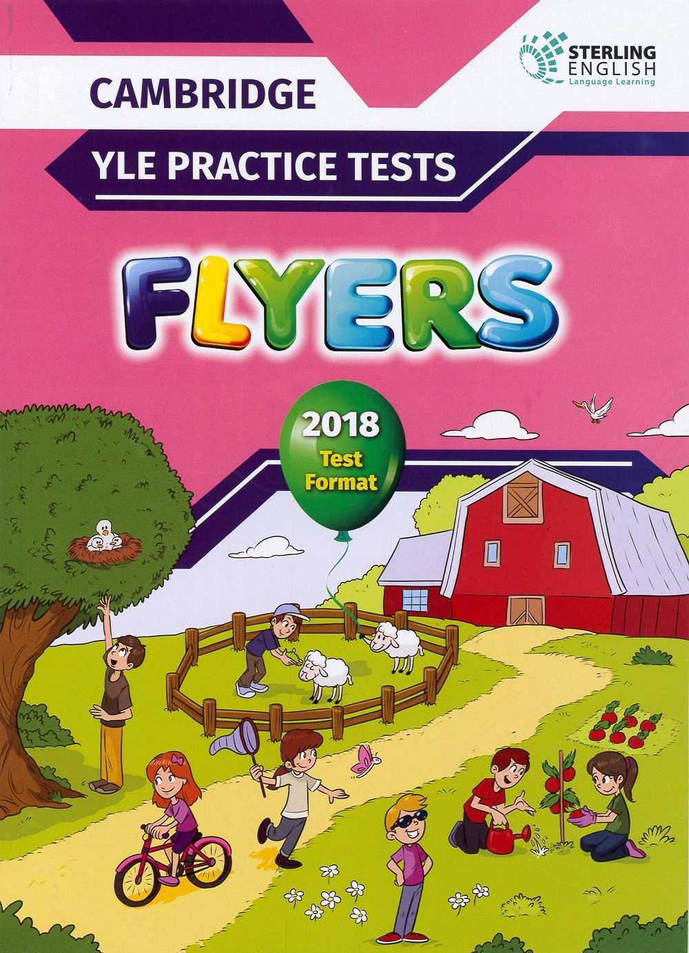 Cambridge YLE Practice Tests Flyers 2018 Test Format Student's Book with MP3 CD & Key(Sterling)