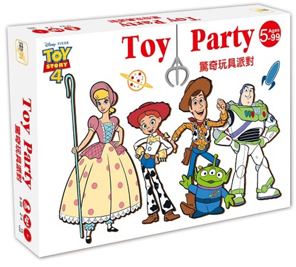 迪士尼 DISNEY-益智卡牌:驚奇玩具派對-(玩具總動員系列)