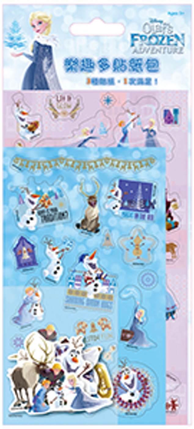 冰雪奇緣 樂趣多貼紙包