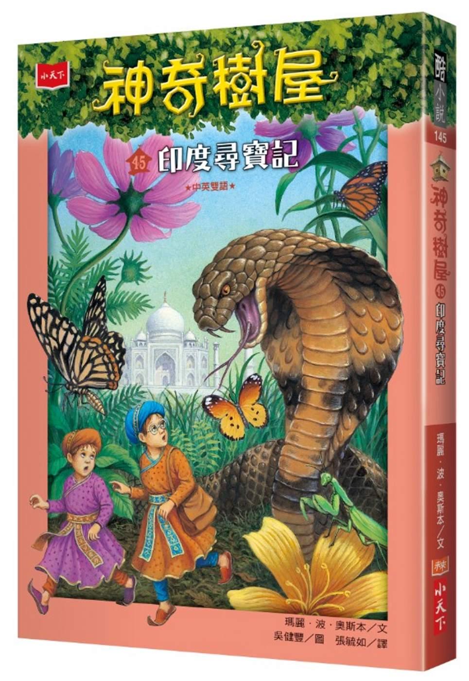 神奇樹屋45:印度尋寶記