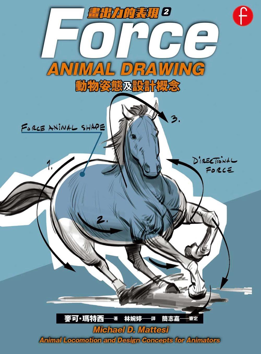 動物姿態及設計概念 畫出力的表現2