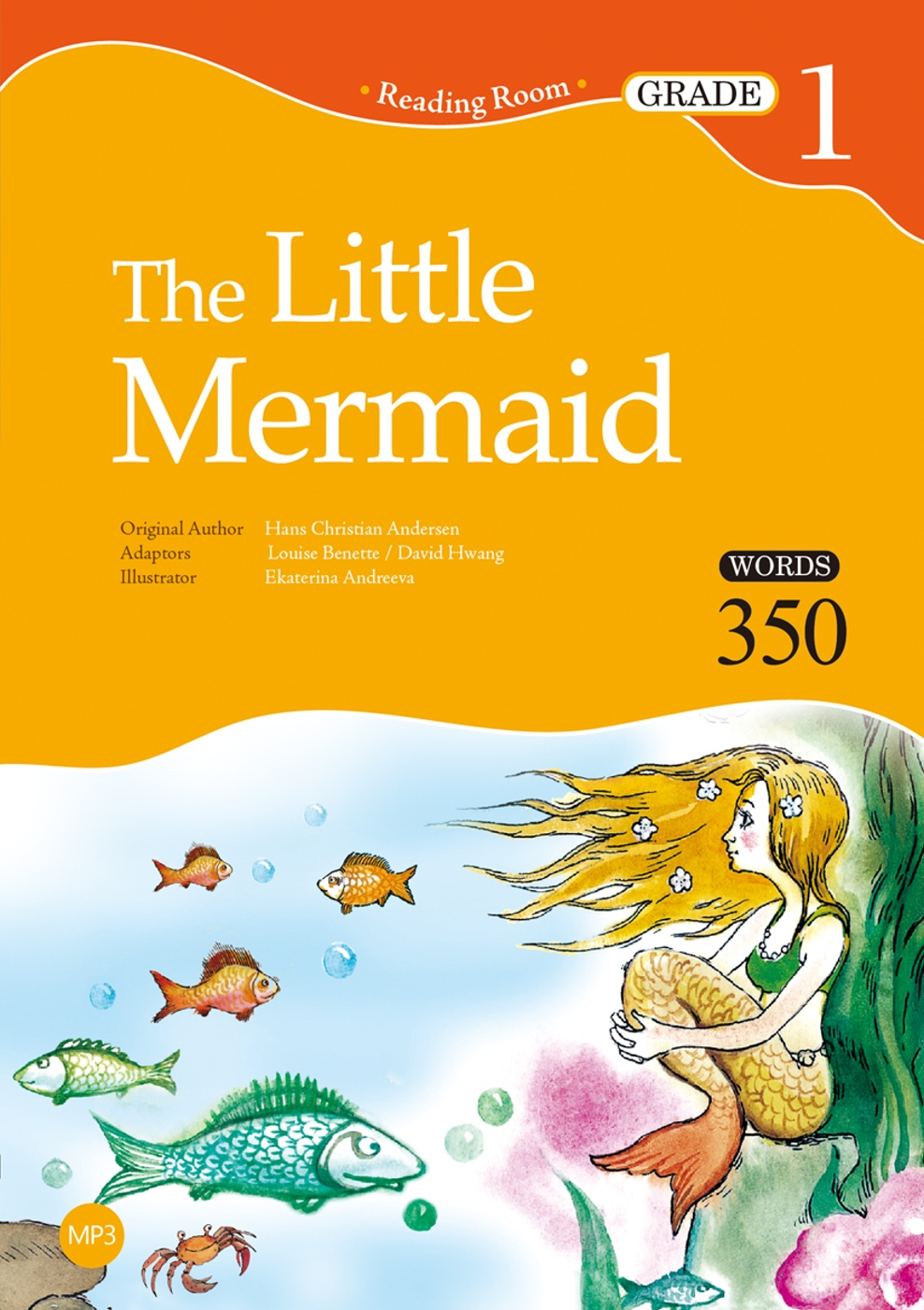 The Little Mermaid【Grade 1】(25K+1MP3)