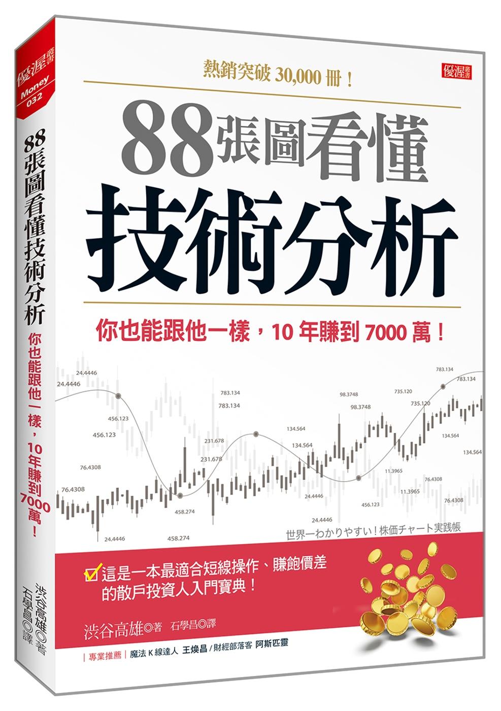 88張圖看懂 技術分析:你也能跟他一樣,10年賺到7000萬!