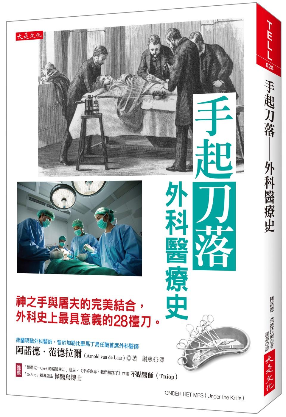 手起刀落:外科醫療史:神之手與...