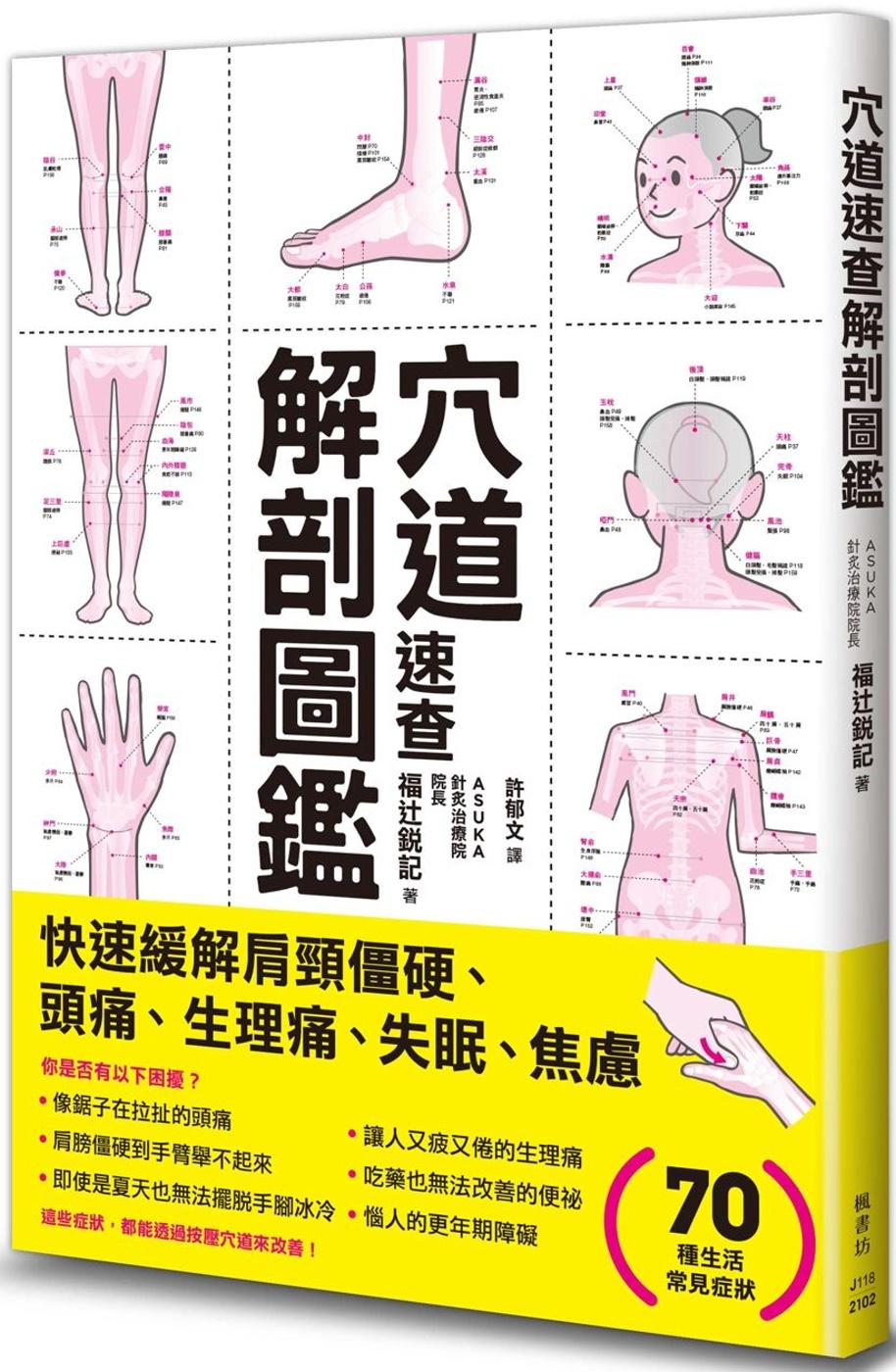 穴道速查解剖圖鑑