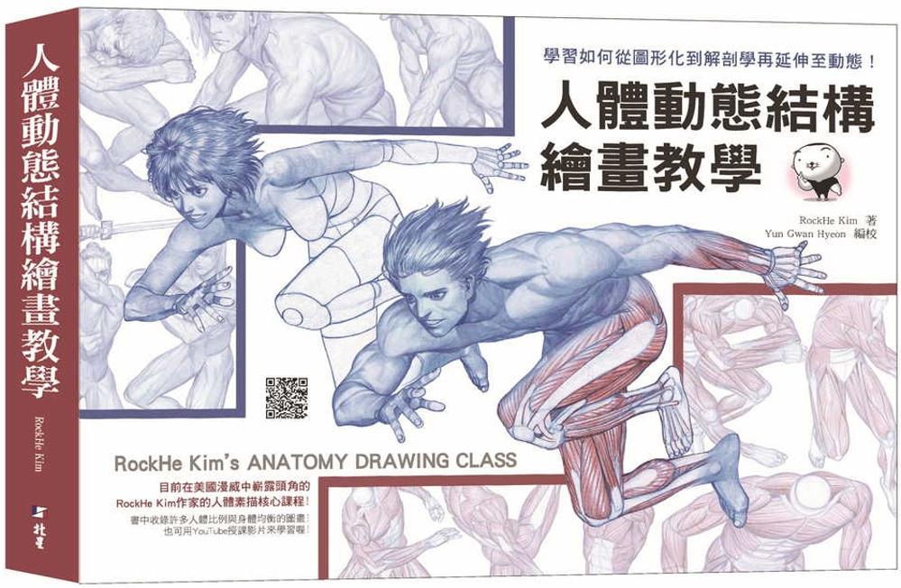 人體動態結構繪畫教學