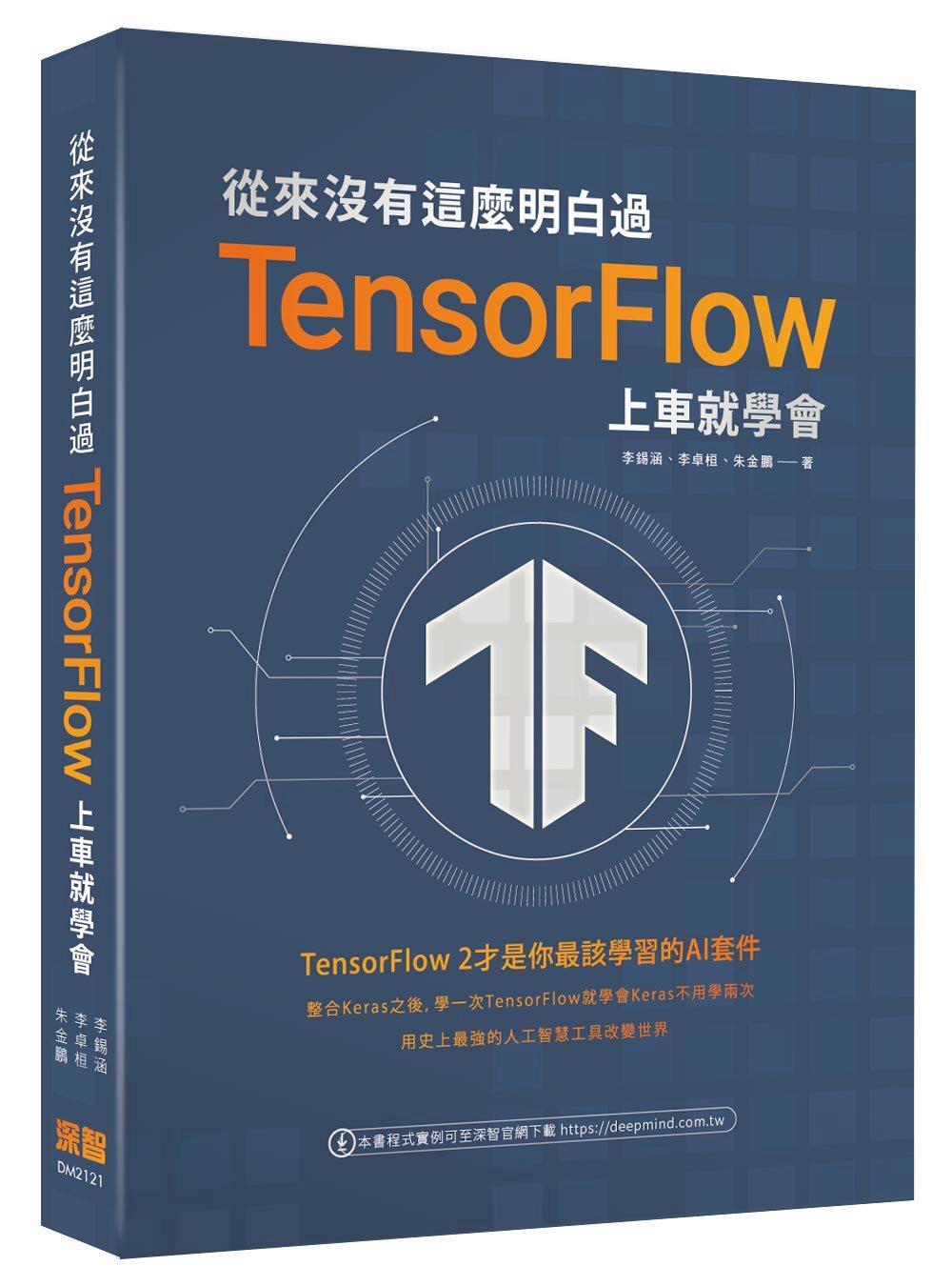 從來沒有這麼明白過:TensorFlow 上車就學會