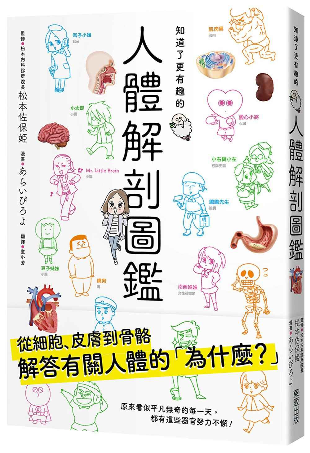 知道了更有趣的人體解剖圖鑑