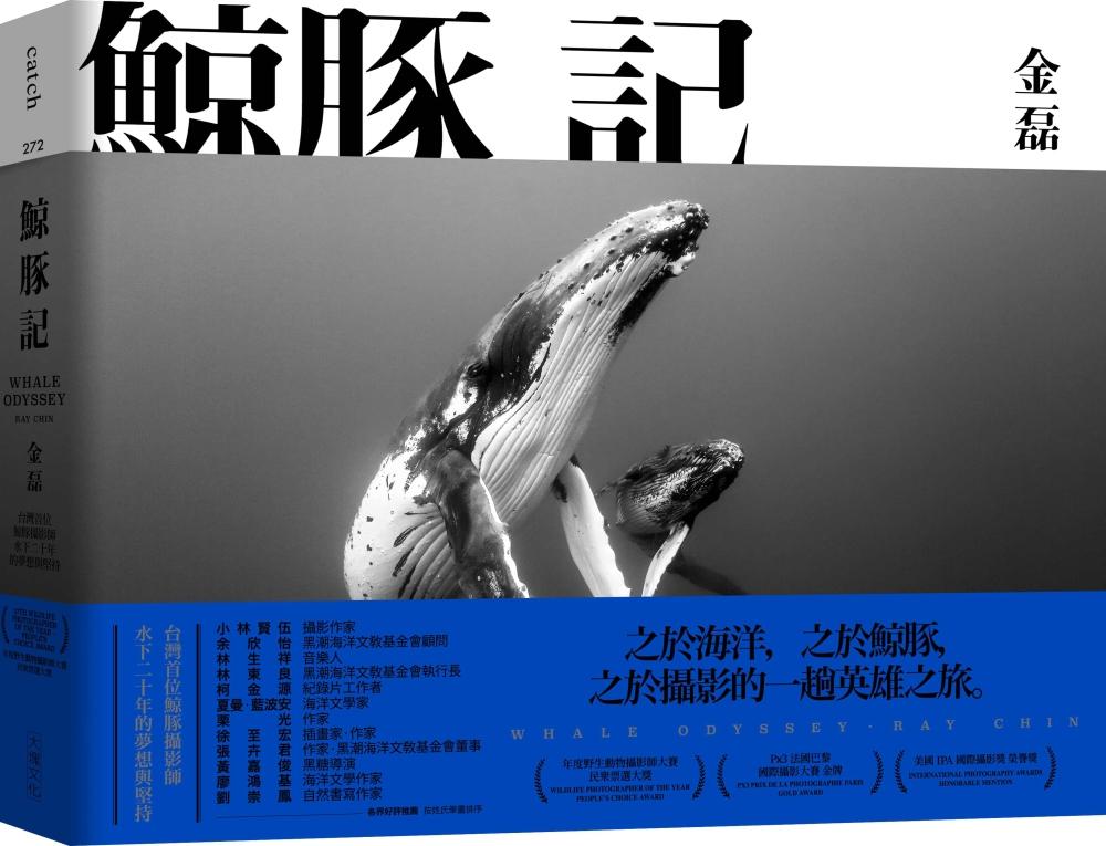 鯨豚記:台灣首位鯨豚攝影師水下...