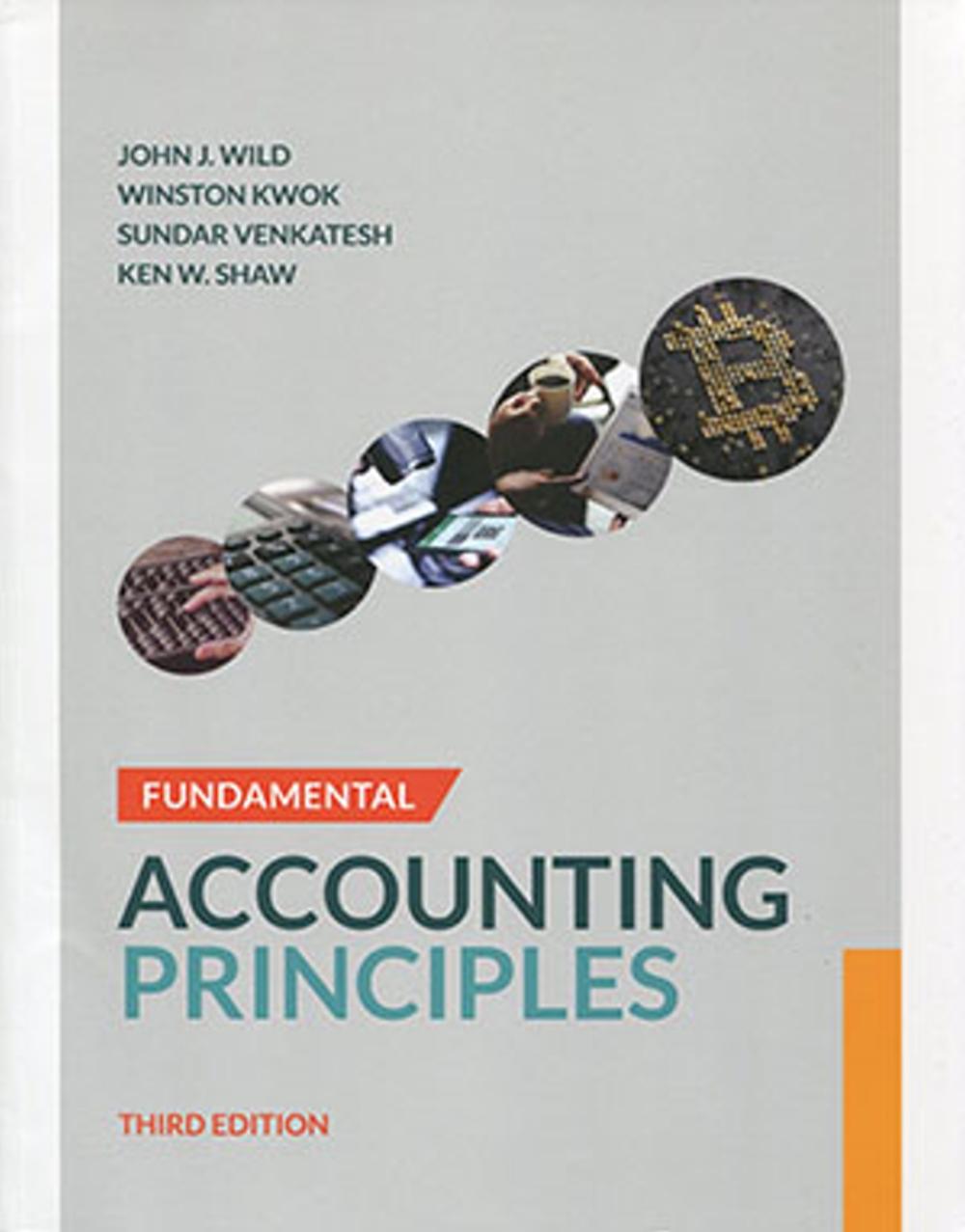 Fundamental Accounting Principles IFRS (Chapter 1-26)(3版)