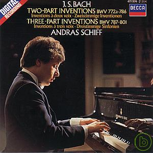 Bach J.S.:Two and Three Part Inventions
