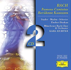 BACH : Famous Cantatas BWV 4 51 56 140 147 20