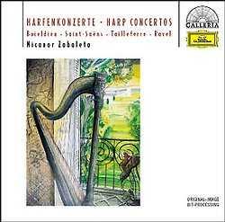 NICANOR ZABALETA: Harp Concertos