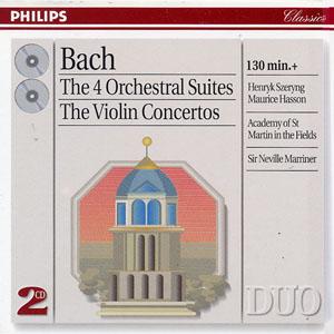 Bach: 4 Orchestral Suites  Violin Concertos