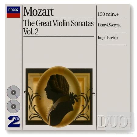 Mozart: Great Violin Sonatas Vol. 2  Henryk S