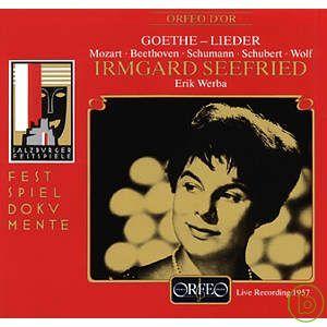 Irmgard Seefried Lieder nach Texten von Johan