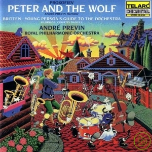 Andre Previn 指揮   Prokofiev:Peter  the Wolf、B