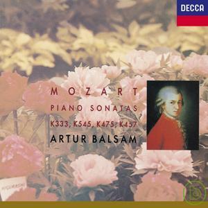Mozart: Piano Sonatas K333 K545 K475 K457  Ba