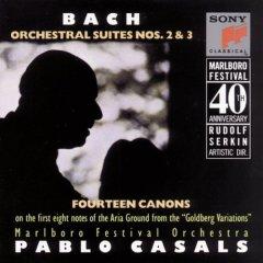 Pablo Casals  Bach:Orcestral Suites Nos.2  3