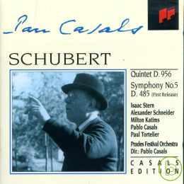 Schubert: :Quintet SYM.5  Dir. Pablo Casals c