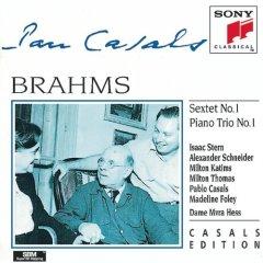 Isaac Stern  Pablo Casals  Brahms: Sextet in
