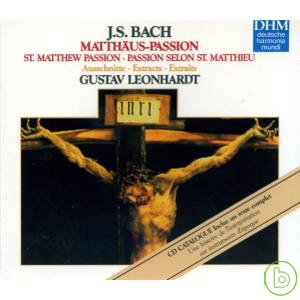 Adventures In Early Music  J. S. Bach: Passio