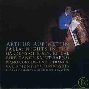 Arthur Rubinstein、Alfred Wallenstein  Falla:N