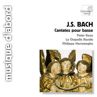 BACH ^(J.S.^). Cantatas for solo bass