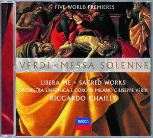 Verdi: Messa Solenne  Messa di Gloria  etc. R
