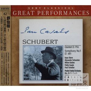 Schubert: Quintet in  Pablo Casals Isaac Ster