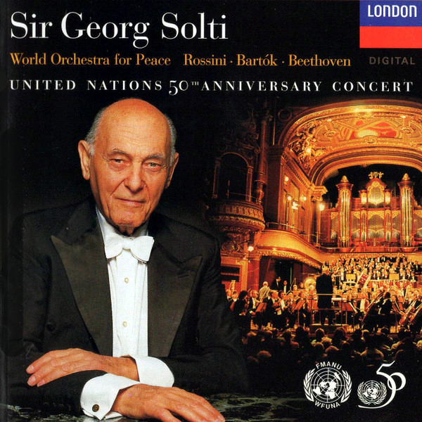 United Nations 50th Anniversary Concert  Sir